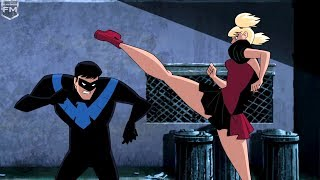 Download Nightwing vs Harley Quinn | Batman and Harley Quinn Video