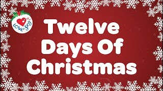 Download Twelve Days of Christmas with Lyrics Christmas Carol & Song Children Love to Sing Video