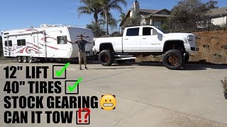 Download CAN THIS HUGE TRUCK STILL TOW?! Video