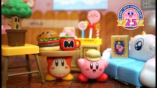 Download kirby miniature toy! 「Kirby's cafe time」星のカービィのリーメント「プププなカフェタイム」 Video