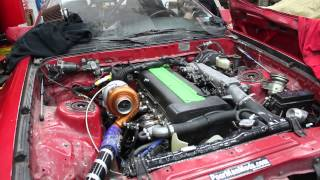 Download Single Turbo 1JZ First Start Up Video