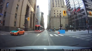 Download Driving in Toronto - Saturday Morning Drive - February 2017 - Front Dash Cam Video