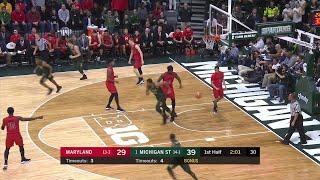 Download Big Ten Basketball Highlights: Maryland at Michigan State Video