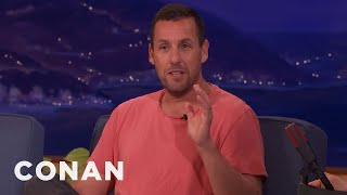 Download Harrison Ford Asked Adam Sandler To Wash His Car - CONAN on TBS Video