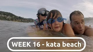 Download a RIP CURRENT catches DAD and two GIRLS in KATA BEACH, THAILAND :: WEEK 16 Video
