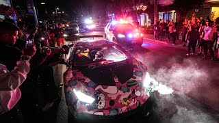 Download MONTEREY POLICE SWARM ″OUT OF CONTROL″ HYPERCAR MEET! Video