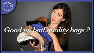 Download How to recognize good vs. bad quality handbags | Justine Leconte Video