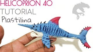 Download COMO HACER UN HELICOPRION NIVEL 40 DE JURASSIC WORLD DE PLASTILINA/ARCILLA PASO A PASO Video