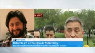 Download Monterrey: menor dispara contra una maestra y varios alumnos Video