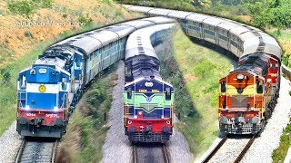 Download Final Stage of Electrification | MYSORE - BANGALORE Trains | Indian Railways Video