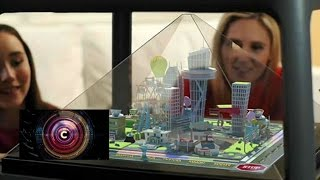 Download Holographic pyramid creates a world on your table - BBC Click Video
