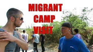 Download Squatting Slav TV: Visiting a Migrant Camp Video
