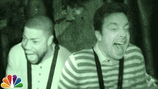 Download Jimmy and Kevin Hart Visit a Haunted House Video