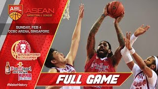Download Singapore Slingers vs San Miguel Alab Pilipinas | FULL GAME | 2017-2018 ASEAN Basketball League Video