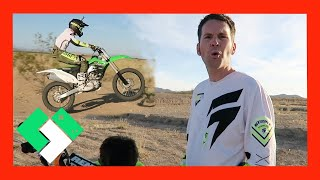 Download DIRT BIKE RUNS OUT OF GAS! (Day 1502) | Clintus.tv Video