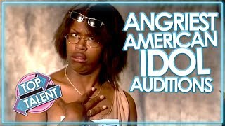 Download ANGRY & RUDEST AUDITIONS ON AMERICAN IDOL! Video