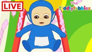 Download 🔴 LIVE Teletubbies ★ NEW Tiddlytubbies LIVE Cartoons ★ New Cartoon Episodes 1-3 ★ Cartoons for Kids Video