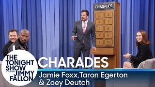 Download Charades with Jamie Foxx, Taron Egerton and Zoey Deutch Video