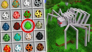 Download A NOVA ARANHA ESQUELETO E NOVOS MOBS MUTANTES!! MINECRAFT Video