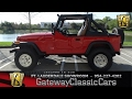 Download #439-FTL 1989 Jeep Wrangler Islander Video