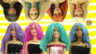 Download Barbie Dolls Head Twist Changing Hair Style + Color Change Hair - Toy Video Video