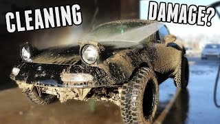 Download Cleaning the Rally Miata & Assessing the Damage Video