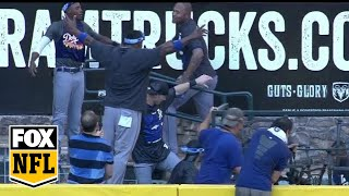 Download Dodgers Celebrate in D-Backs Pool After Clinching NL West Video