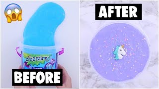 Download EXTREME STORE BOUGHT SLIME MAKEOVER CHALLENGE *fixing $5 cheap slime* Video