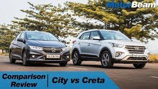 Download Honda City vs Hyundai Creta - Which Car For Rs. 15 Lakhs? | MotorBeam Video
