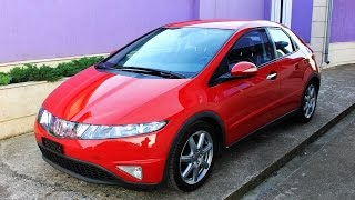 Download Honda Civic 8gen 2006 1.8 140hp Video