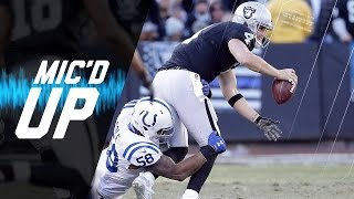 Download Derek Carr Mic'd Up in Week 16 vs. Colts: ″It Broke″ | NFL Films | Sound FX Video
