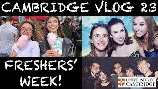 Download CAMBRIDGE VLOG 23: FRESHERS' WEEK! Video