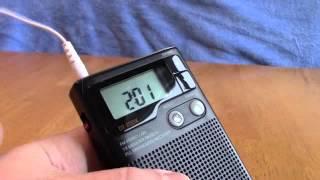 Download Sangean Pocket radio DT200X Video