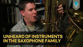 Download Unheard of Instruments in the Saxophone Family Video