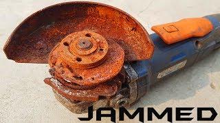 Download Rusty Jammed Angle Grinder Worst Restoration Ever Video