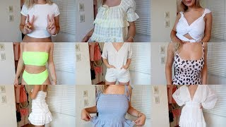 Download HUGE TRY ON HAUL: cute outfits for summer ft. princess polly Video