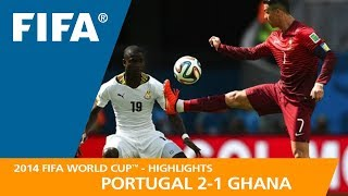 Download PORTUGAL v GHANA (2:1) - 2014 FIFA World Cup™ Video