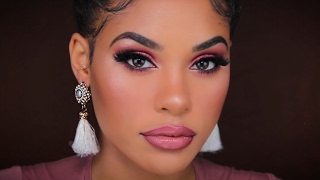 Download MY GO TO GLAM NIGHT OUT MAKEUP | 2 LIP CHOICES Video