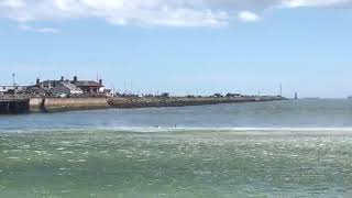 Download Irish coastguard rescues 3 men off Bull island, Clontarf Video