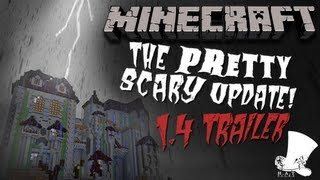 Download Minecraft ″Pretty Scary″ 1.4 Official Trailer Video
