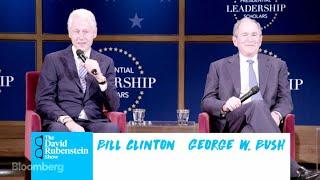 Download The David Rubenstein Show: Clinton and Bush Video