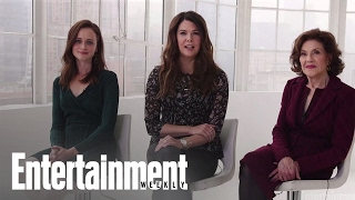 Download Gilmore Girls: Alexis Bledel, Lauren Graham & More On New Show | Cover Shoot | Entertainment Weekly Video
