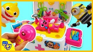 Download Pinkfong Hospital Toy Play ! Heal the injured Pinkfong! Fun Learning Videos for Kids | WeToy Video