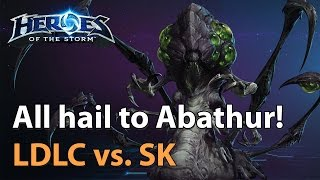Download Abathur returns: LDLC vs. SK Gaming - Planetkey Invitational - Heroes of the Storm Video
