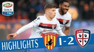 Download Benevento - Cagliari 1-2 - Highlights - Giornata 29 - Serie A TIM 2017/18 Video