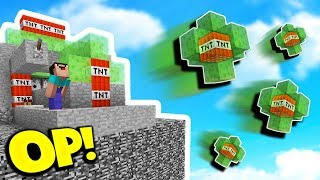 Download OVERPOWERED SLIME CANNON! (Minecraft TNT WARS) Video