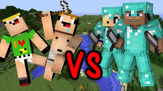 Download Noobs Vs. Pros - Minecraft Video