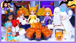 Download Lego Friends Halloween Haunted Mansion Dress Up Silly Play - Kids Toys Video