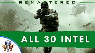 Download Call of Duty 4 Modern Warfare Remastered - All 30 Intel Locations (Eyes and Ears) - Activates Cheats Video