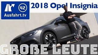 Download Opel Insignia für große Personen? Ausfahrt.tv hilft. Video